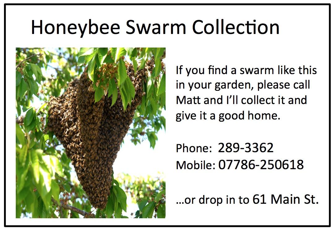 Swarm collection notice